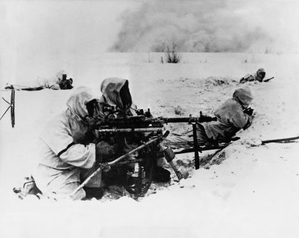 MG34 in the snow