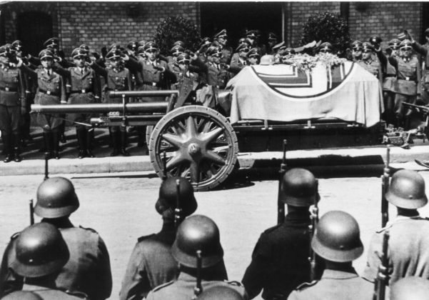 The funeral of Heydrich