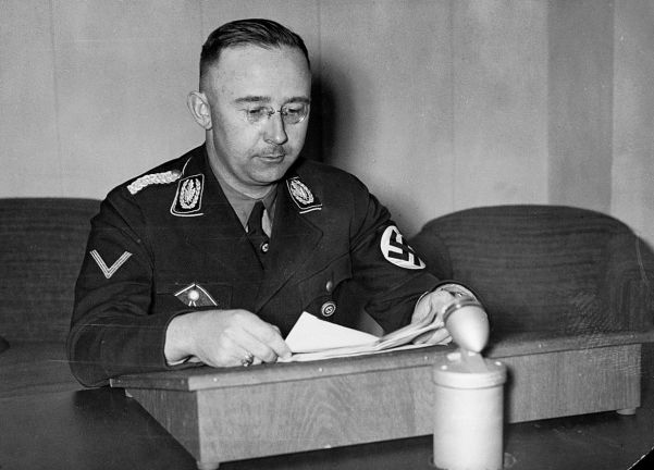SS supremo Heinrich Himmler, who was outraged by the SA's sedition and disgusted by Röhm's homosexuality.
