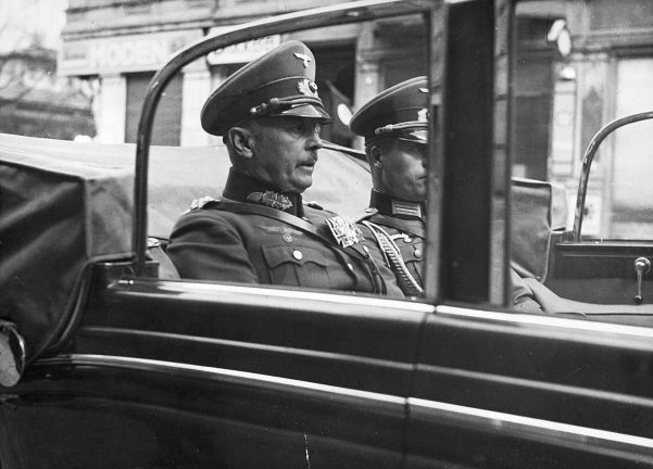General Freiherr Werner von Fritsch, army commander-in-chief, disliked Nazism. He was removed following a sex scandal.