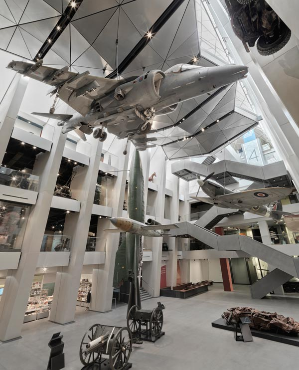 The new atrium of the Imperial War Museum