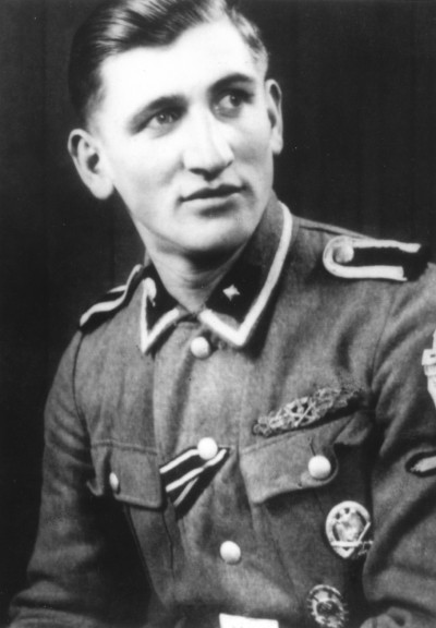 SS-Unterscharführer Willi Herbeth, one of just over 600 recipients of the Close Combat Clasp in Gold.