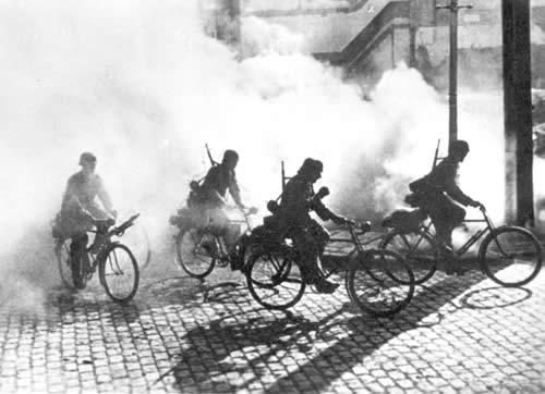 Bicycle Soldiers