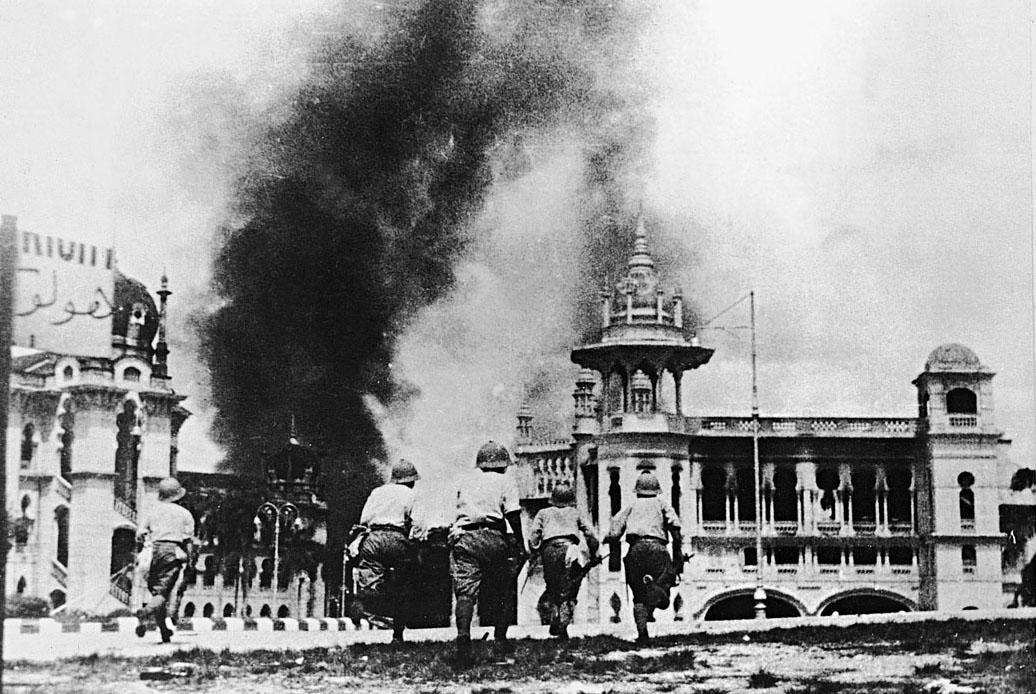 japanese attack on malaya