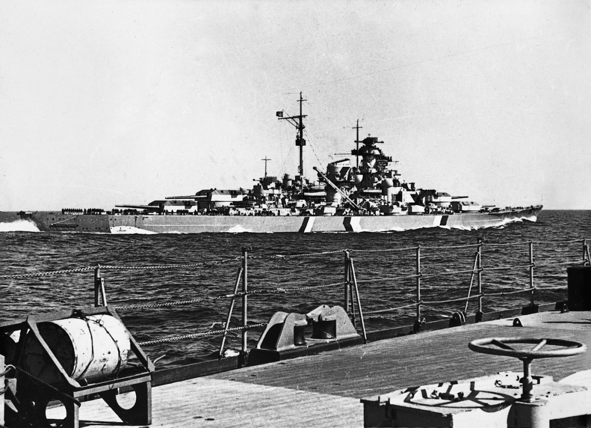 bismarck ships weapons technology german war machine